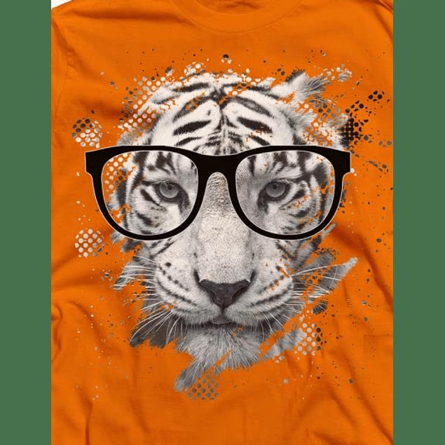 Tiger Head Eyeglasses