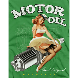 Motor Oil Pi Up