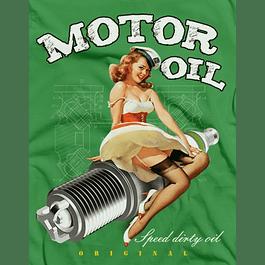 Motor Oil Pi Up