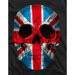 Skull Head London Flag