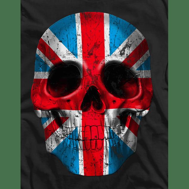 Skull Head London Flag