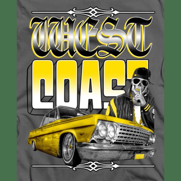 West Coast Skull Car