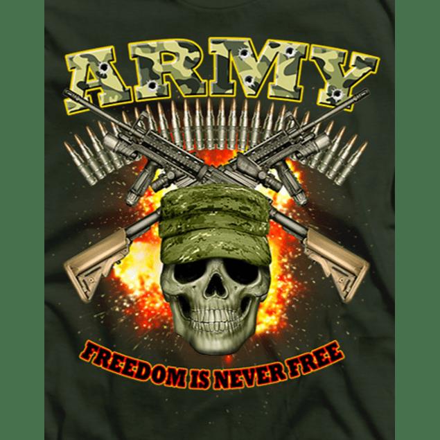 Army Military Skull