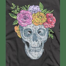 Skull Roses Head