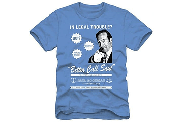"19+ Better Call Saul T-Shirts for When You Need a ""Criminal"" Lawyer"