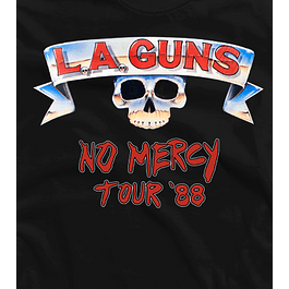 LA GUNS front and back