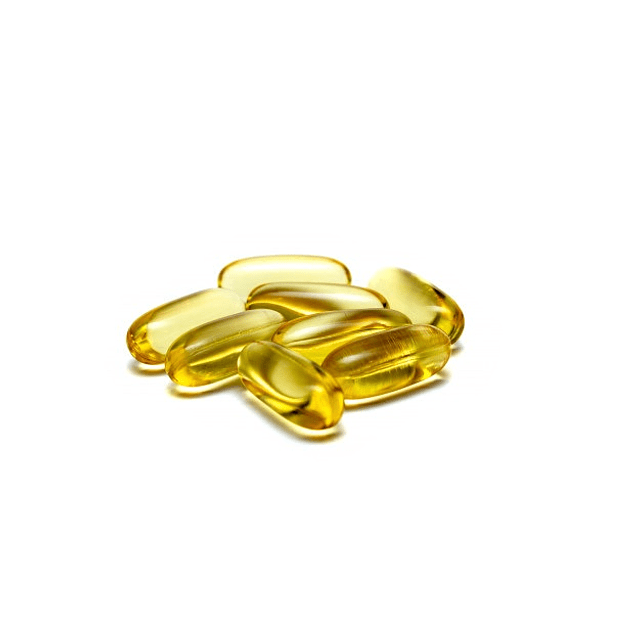 Cápsulas omega 3 vitaminas suplemento natural aceite pescado sardinas