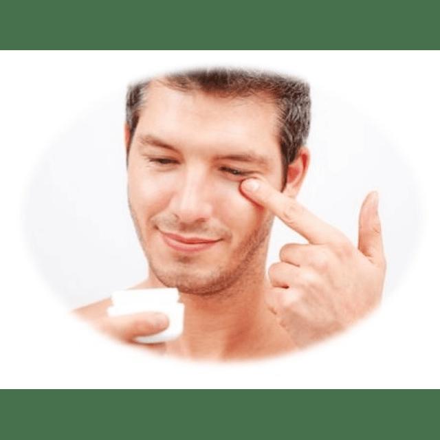 Crema contorno ojos ácido hialurónico dermik reduce ojeras y bolsas