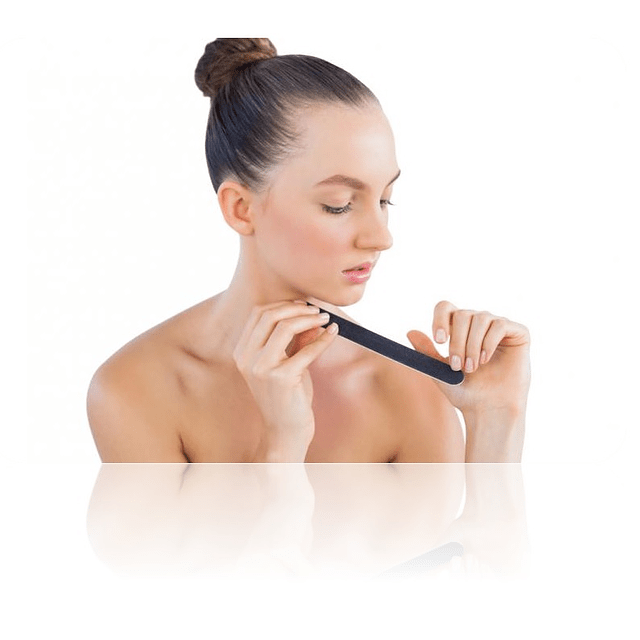 Lima manicure en casa para pulir las uñas manos doble cara comprar