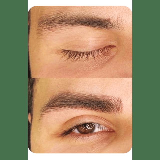 Tinte pestañas café y cejas marrón tintura capilar ainybel dermik