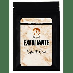 Exfoliante facial corporal aceite coco y café anticelulitis estrias cuerpo