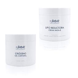 Gel criogeno + crema liporeductora Dr. Fontboté pack reductivo