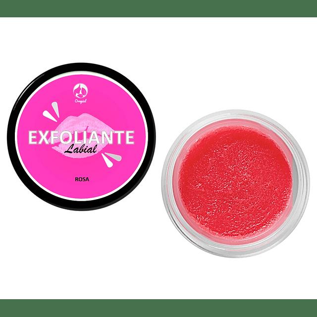 Exfoliante labial scrub natural de rosas comestible Chile renueva los labios