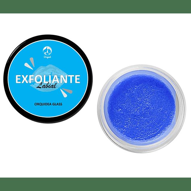 Exfoliante piel labios nutritivo antiarrugas renovador orquidea azul