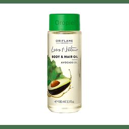 Aceite palta Chile oriflame orgánico cabello o pelo y piel cuerpo