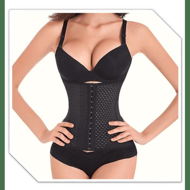 Faja cintura avispa perfecta colombiana reductora original talla S