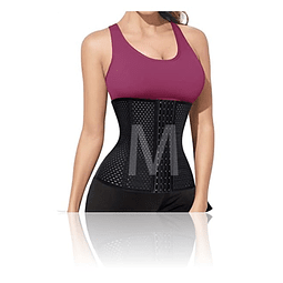 Faja reductora corset reduce medidas abdomen cintura talla M