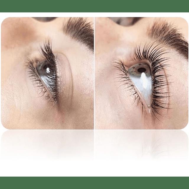 Kit permanente ondulado pestañas ainybel eyelash pro profesional chile