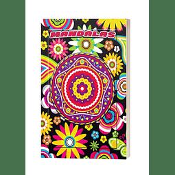 Libro mandalas para colorear o pintar animales naturaleza relajante
