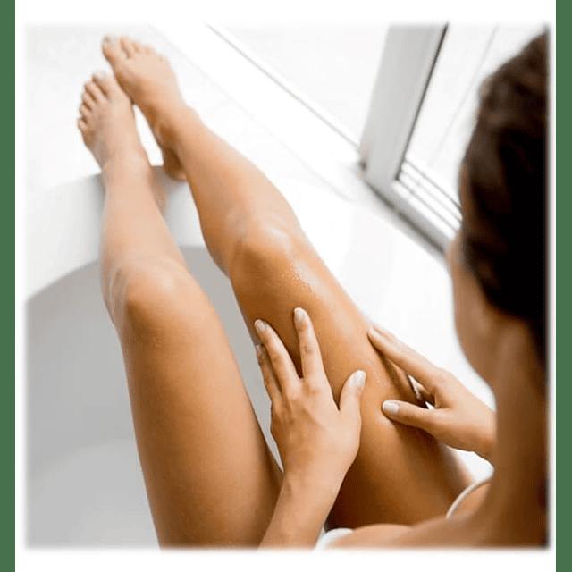 Loción corporal reafirmante abdomen busto gluteos brazos y piernas