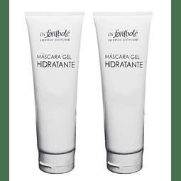 2 Mascarillas colágeno y aloe vera hidratante Dr. Fontboté mascara gel