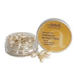 Cápsulas vitamina A retinol force serum concentrado vitamina plus dr fontboté
