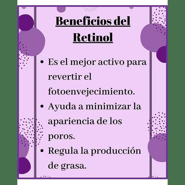 Serum retinol concentrado alisa arrugas piel rostro Dr. Fontboté set 2