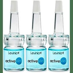serum ácido hialurónico dermik levinia antiarrugas concentrado set pack 3