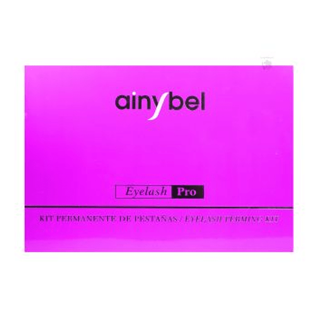 Permanente pestañas Ainybel Dermik kit lifting eyelash pro ondulado encrespado set