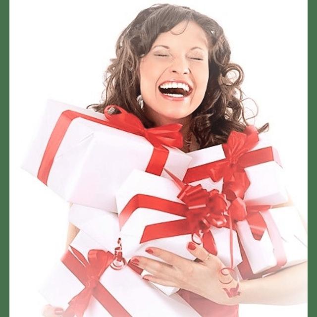 Cosméticos sorpresa para mujer