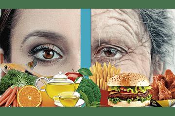 Alimentos contra el envejecimiento, arrugas, consejos, tips de belleza