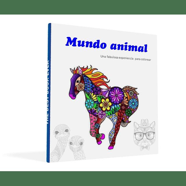 Comprar libro pintar mandalas colorear animales adultos y niños PDF