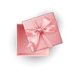 Pedido envuelto en papel de regalo para mujer