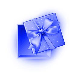 Pedido envuelto en papel de regalo para hombre