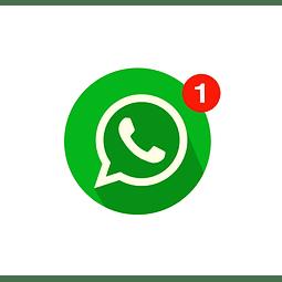 Notificación extra N° de seguimiento vía whatsapp