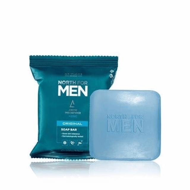 Jabón hombre piel grasa acné puntos negros oleosa limpiador en barra
