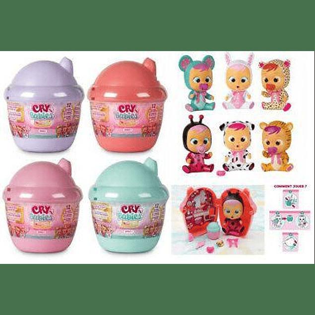 Cry Babies - Magic Tears Mini Bottle House Turquesa - Bebes llorones