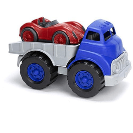 Camión auto de carrera