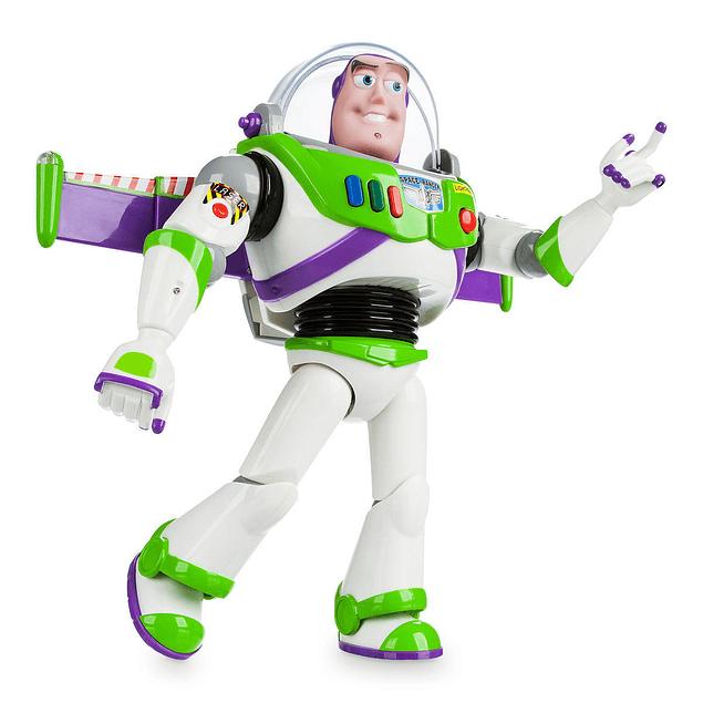 Buzz Lightyear habla en Inglés