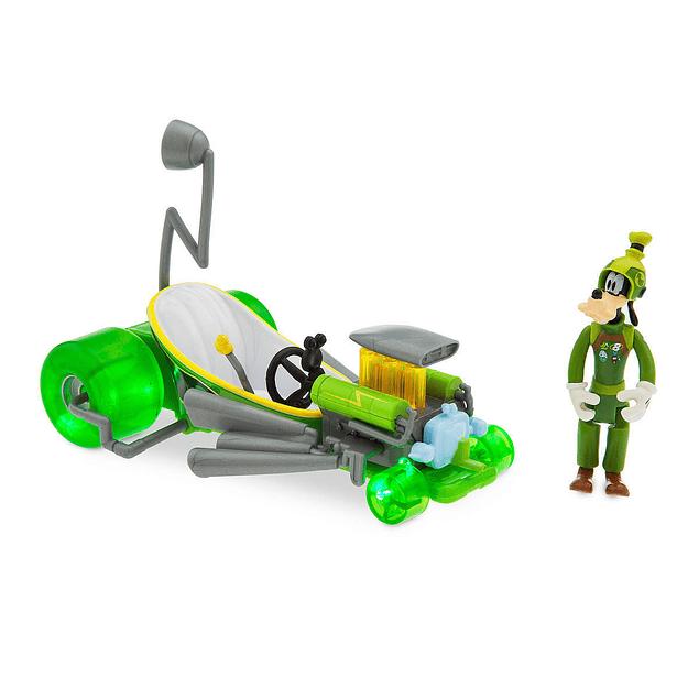 Goofy sobre ruedas