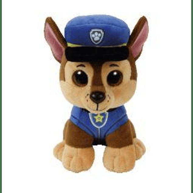 Chase peluche 15 cms - Patrulla de Cachorro (Paw Patrol)
