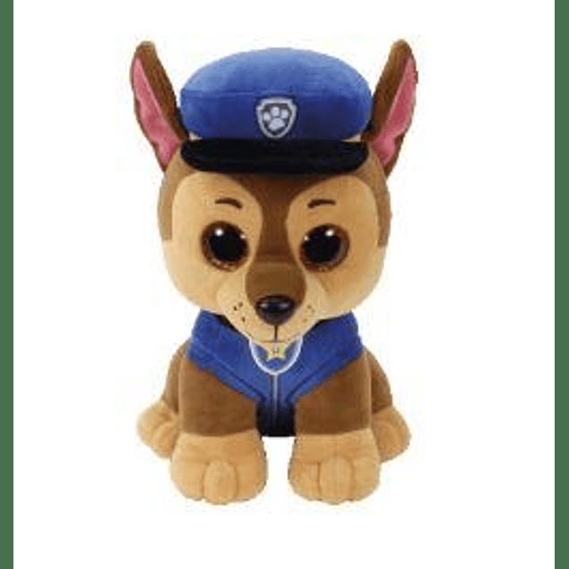 Chase peluche 25 cms - Patrulla de Cachorro (Paw Patrol)
