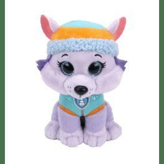 Everest peluche 18 cms - Patrulla de Cachorros (Paw Patrol)