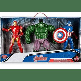 Iron Man, Hulk y Capitan America