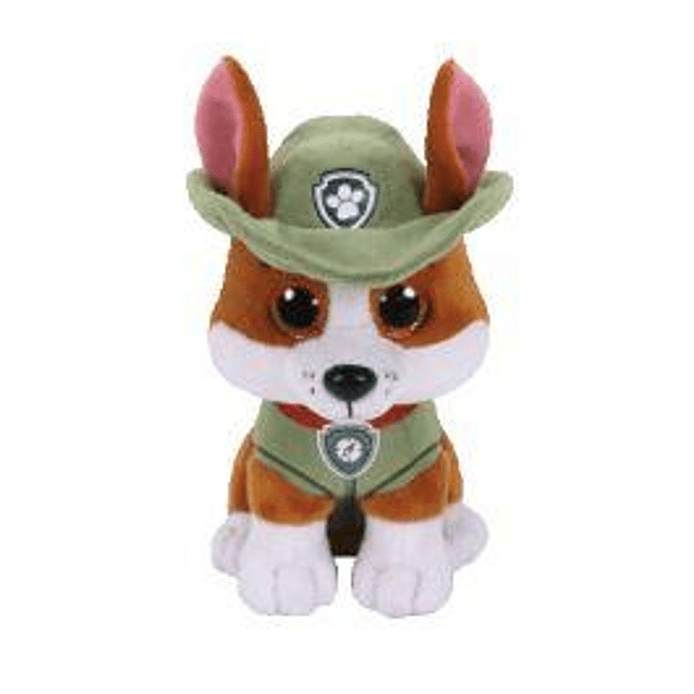 Tracker peluche 25 cms - Patrulla de Cachorro (Paw Patrol)
