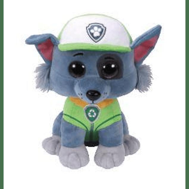 Rocky peluche 25 cms - Patrulla de Cachorro (Paw Patrol)