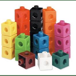 Set de 100 cubos conectores