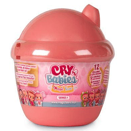 Cry Babies - Magic Tears Mini Bottle House coral - Bebes llorones