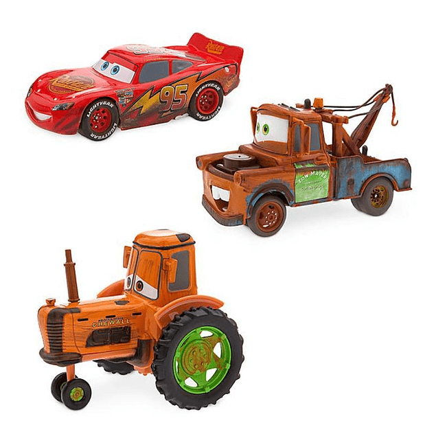 Cars - Set Rayo, Mate y Tractor
