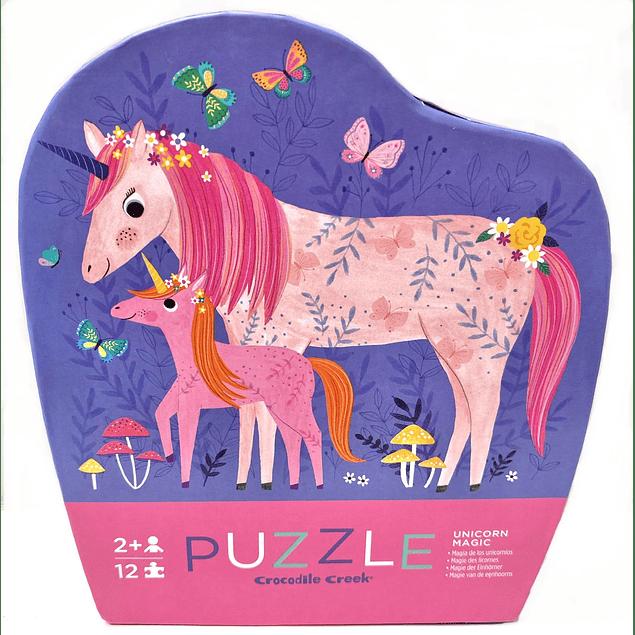 Puzzle Unicornios - 12 piezas